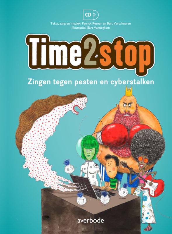 Educatieve cd-liedboek Time2stop, zingen tegen pesten en cyberstalken