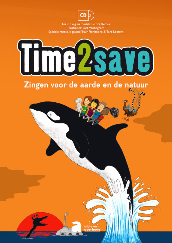 cd-liedboek Time2save, zingen voor de aarde en de natuur
