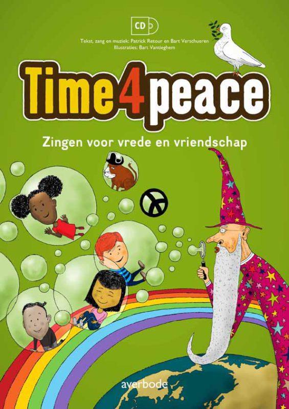 Educatief CD-liedboek Time4peace, zingen voor vrede en vriendschap