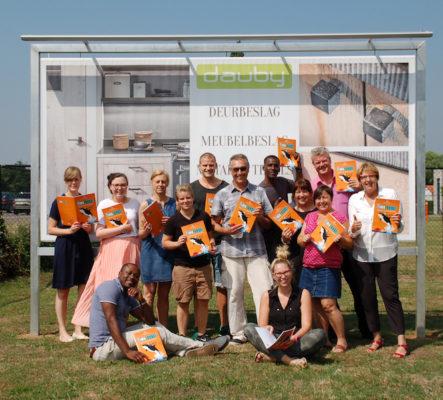 Het team van Dauby in de bres voor een betere wereld